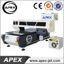 Impressora UV do leito de Digitas para plástico / madeira / vidro / acrílico / metal / cerâmico / impressão de couro