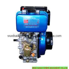 Motor diésel de alta velocidad refrigerado por aire de 5HP (KA178F)