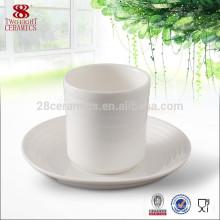 Ceramic Coffee Mug Cup Saucers