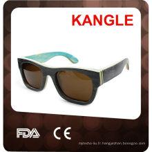 2015 100% fait à la main de haute qualité mode lunettes de soleil en bois