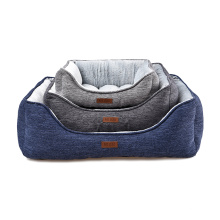 Classic Design Warm Comfortable Cheap Custom Washable Soft Dog Beds