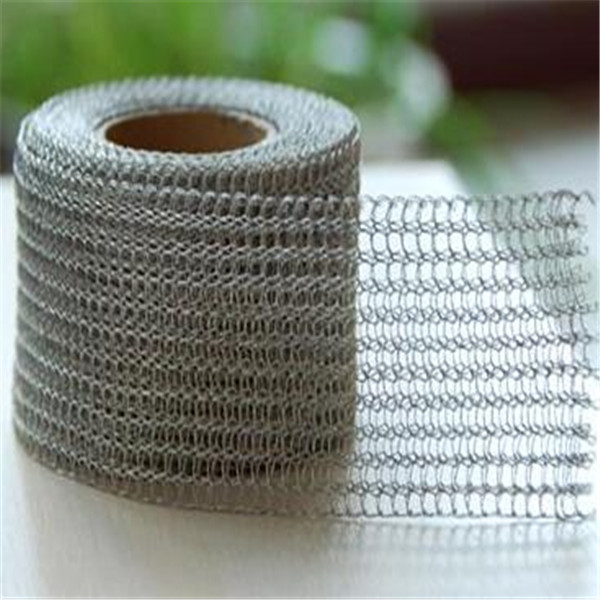 washing equipment gas liquid knitted filtering mesh