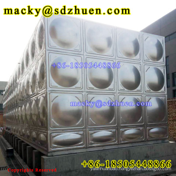 150M3 Stainless Steel 304 Water Tank for Drinking water domestic application