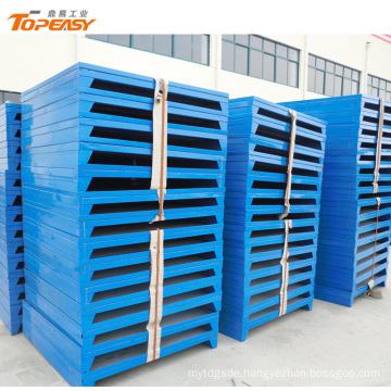 Customized powder coated high quality steel euro pallet