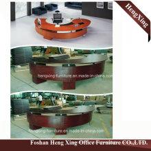 (HX-6D009) Circle Round Europe Design Modern Manager Office Desk
