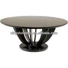Solid wood round restaurant table XYN38