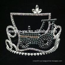 Corona de la flor de la reina de la belleza para la corona verde del tractor del desfile