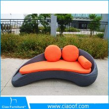 Buena calidad venta caliente al aire libre muebles al aire libre ocio Daybed