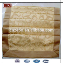 New Design Jacquard Customized 100% Polyester Size of Queen Hotel Bed Runner