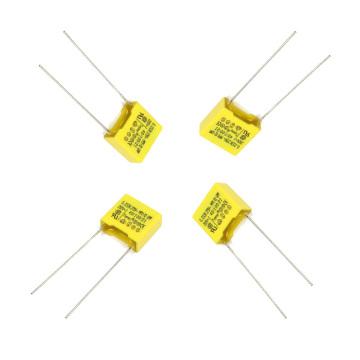 Condensador de película de polipropileno metalizado amarillo 0.033UF 275VAC X2 Tmcf18-2 para interruptor de alimentación