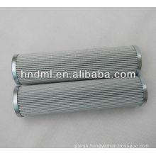 The replacement for FILTREC fiberglass hydraulic oil filter element D821G10A, Filter glue metal mesh filter cartridge