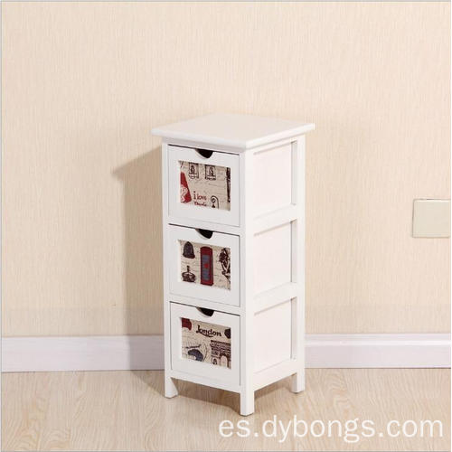 Bedroom New White 3 drawers Nighstands