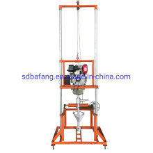 Household Gasoline Drill Rigs Portable Drilling Machine for Water Used