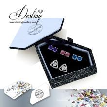 Destiny Jewellery Crystals From Swarovski Combination Earrings