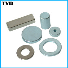 Strong Rare Earth Neodymium Magnet with Ring and Block Shape