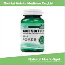 Aloe Natural de Softgel para Constipação