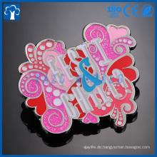 kundenspezifisches Logo-Andenken-Metall-Revers-Pin-Abzeichen für Musik-Events