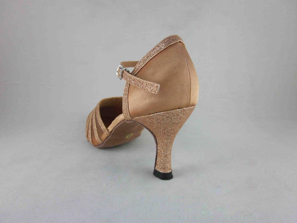 Flesh Satin Dance Shoes Usa
