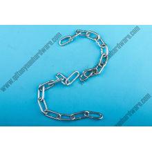 Eléctrico galvanizado/caliente sumergido cadena de acoplamiento soldado con autógena galvanizado