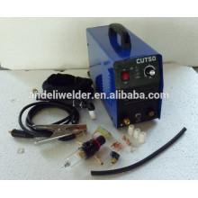 Venda quente Alta eficiência miller portátil 1 fase 220volts cortador de ar plasma 50 ampères