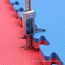 100cmX100cm Rose / bule 20mm Jigsaw Mat à vendre