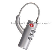 Tsa Approved Combination Digit Padlock for Luggage and Bag Case