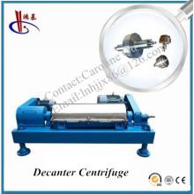Séparateur d'huile de décanteur de décharge automatique horizontale de haute qualité de Hongji