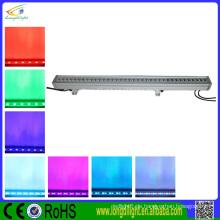 36 * 3W RGB dmx Wand Unterlegscheibe ip65 geführt, im Freien geführtes Lichter Wand Unterlegscheibe