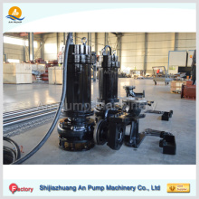 Wear Resistant and Corrosion 380V Portable High Volume Low Pressure Submersible Sand Dredging Pump