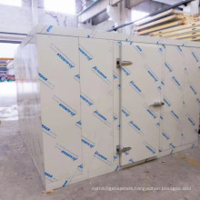 China changzhou factory direct supply flower fruit mushroom vegetable cold room cool room for sale