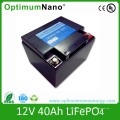 Rechargeable 12V 40ah Lithium Battery Packs for UPS