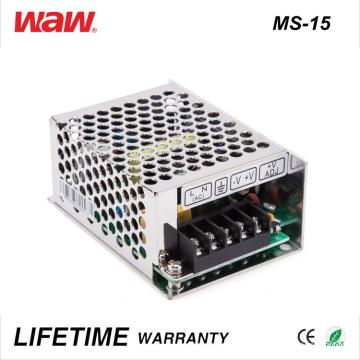 Driver do diodo emissor de luz do anúncio de MS-15 SMPS 15W 24V 0.6A