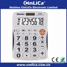 Calculatrice de bureau à affichage à brevet avec rétro-éclairage LED DS-828