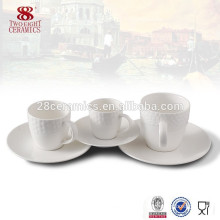 Royal fine porcelain small coffee cup and saucer set for espresso