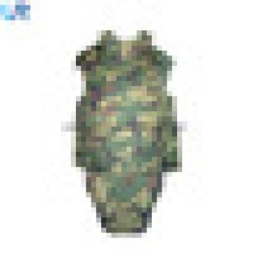 Chaleco de armadura de cuerpo completo a prueba de balas de polietileno militar