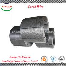 El fabricante chino suministra la aleación del metal, alambre con base del polvo de la aleación del silicio de FeSi / ferro
