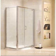 Gabinete de chuveiro de vidro temperado simples competitivo com AS / NZS2208 Certificado (P21)