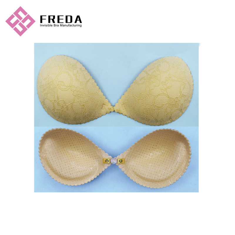 Cheap Front Closure Adhesive Push Up Bra