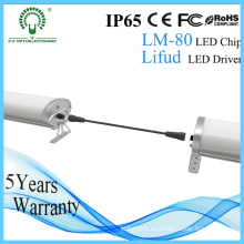 EU Stanadard 1500 mm IP65 60W Epistar Tri-Proof LED luz