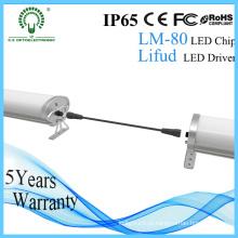 Luz do diodo emissor de luz da UE-Stanadard 1500mm IP65 60W Epistar Tri-Proof