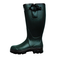 High Quality Adult Neoprene Liner Hunting Rubber Boots with 2colors Outsole