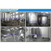 Alta eficiência fluidização secador máquina do alimento