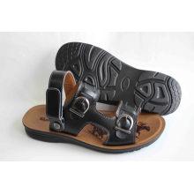Chaussures de plage style style classique avec coupe en cuir d'action (SNB-14-002)