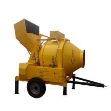 Small batch concrete mixer attachment