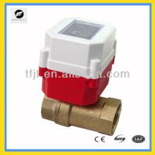 """Mini 2 vias DC3.6V G1 """"Li bateria Controle do cartão de RF RF válvula de desligamento elétrico para projeto de aquecimento de controle automático"""