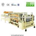 ISO CE Standard PVC glasierte Ziegel Palstic-Maschine, PVC Kunststoff Fliese Produktionslinie exportiert