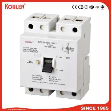 2P Low Voltage Earth Leakage Circuit Breaker RCCB