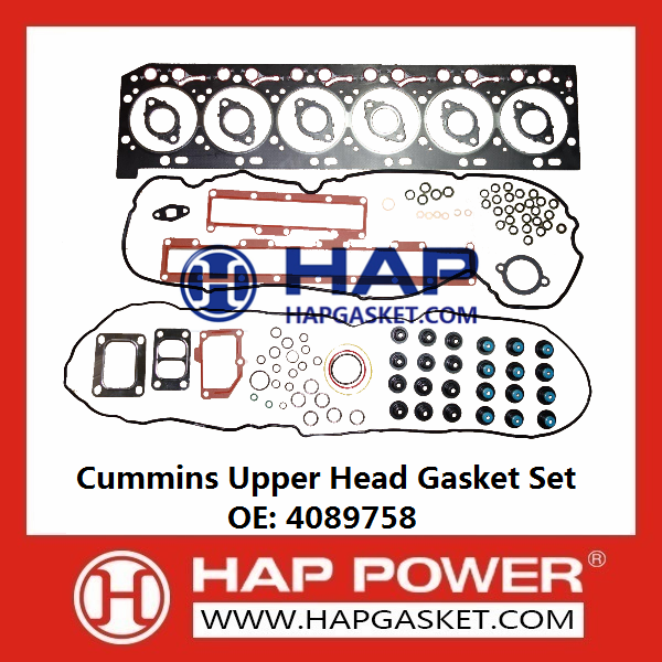 CUMMINS Upper Head Gasket Set 4089758
