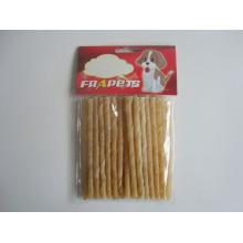 "Собачьи корма Природные Rawhide Twist Stick (5 ""/ 6-8 мм)"