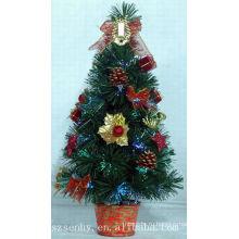 Время праздника оптического волокна Рождественская Елка с шишкой
